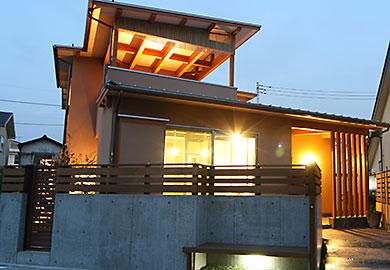 4-3施工事例_トミタケ建設_無垢材の家